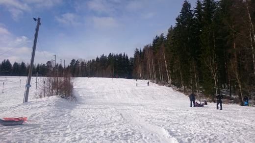 sledding-slope