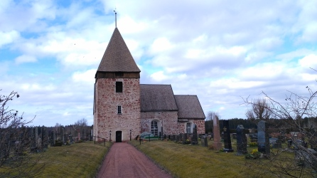 One of many medieval churches